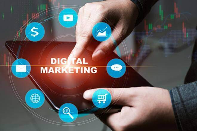 The advantages of online stores and digital marketing
